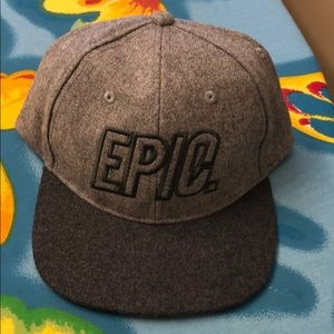 "NWTs Old Navy boys adjustable ""EPIC"" hat, one size"